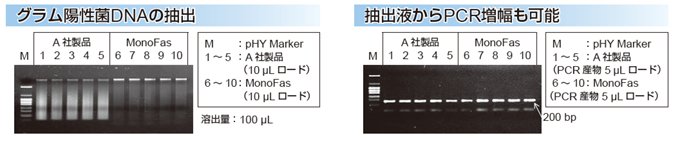 MonoFas バクテリアゲノムDNA 抽出キットVIIの図